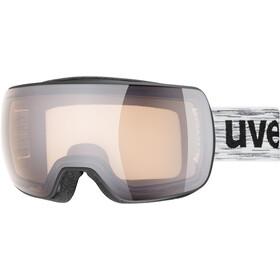 UVEX Compact V Uimalasit, black mat/variomatic silver